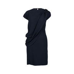 Draped Front Dress