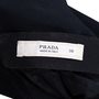 Authentic Second Hand Prada Draped Front Dress (PSS-228-00051) - Thumbnail 2