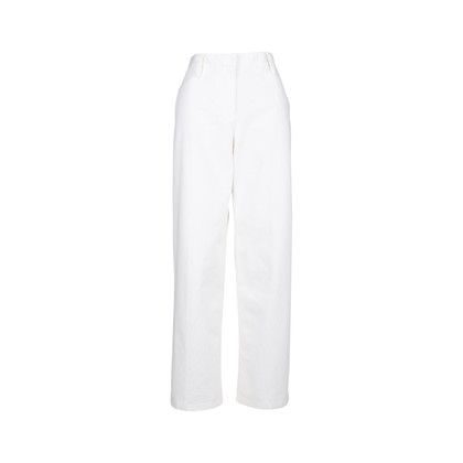 Authentic Second Hand The Row Werto Cotton Wide Leg Pants (PSS-051-00405)