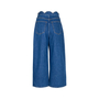 Authentic Second Hand Valentino Scalloped Denim Jeans (PSS-051-00406) - Thumbnail 1