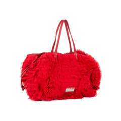 Valentino tulle rosette tote bag 2?1534523860