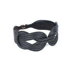 Shanghai tang knot wide corset belt black 2?1534526723