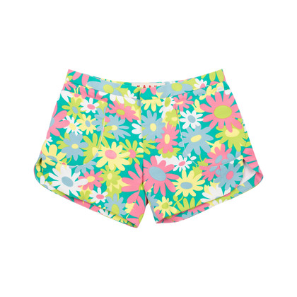 Authentic Pre Owned Marni Floral Shorts (PSS-497-00012)