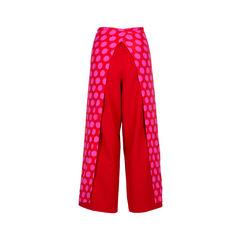 Comme des garcons dotted self tie pants 2?1534740593