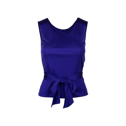 Authentic Second Hand Jil Sander Self-Tie Ribbon Top (PSS-497-00022)