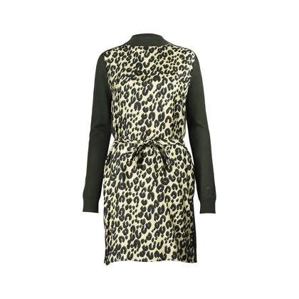 Authentic Second Hand Louis Vuitton Long Sleeve Logo Print Dress (PSS-200-00538)