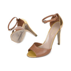 Sergio rossi hammered heel sandals 2?1534838597