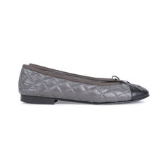 Chanel nylon quilted ballerina flats 2?1535006852