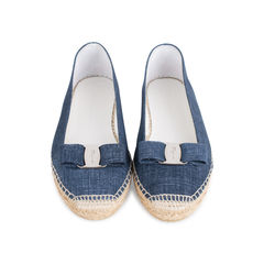 Mandy Denim Espadrille Flats