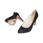 Authentic Second Hand Chanel Suede Cap Toe Pointed Pumps (PSS-544-00002) - Thumbnail 1