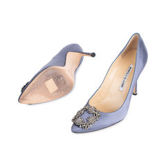 Manolo blahnik grey hangisi pumps 2?1535007449