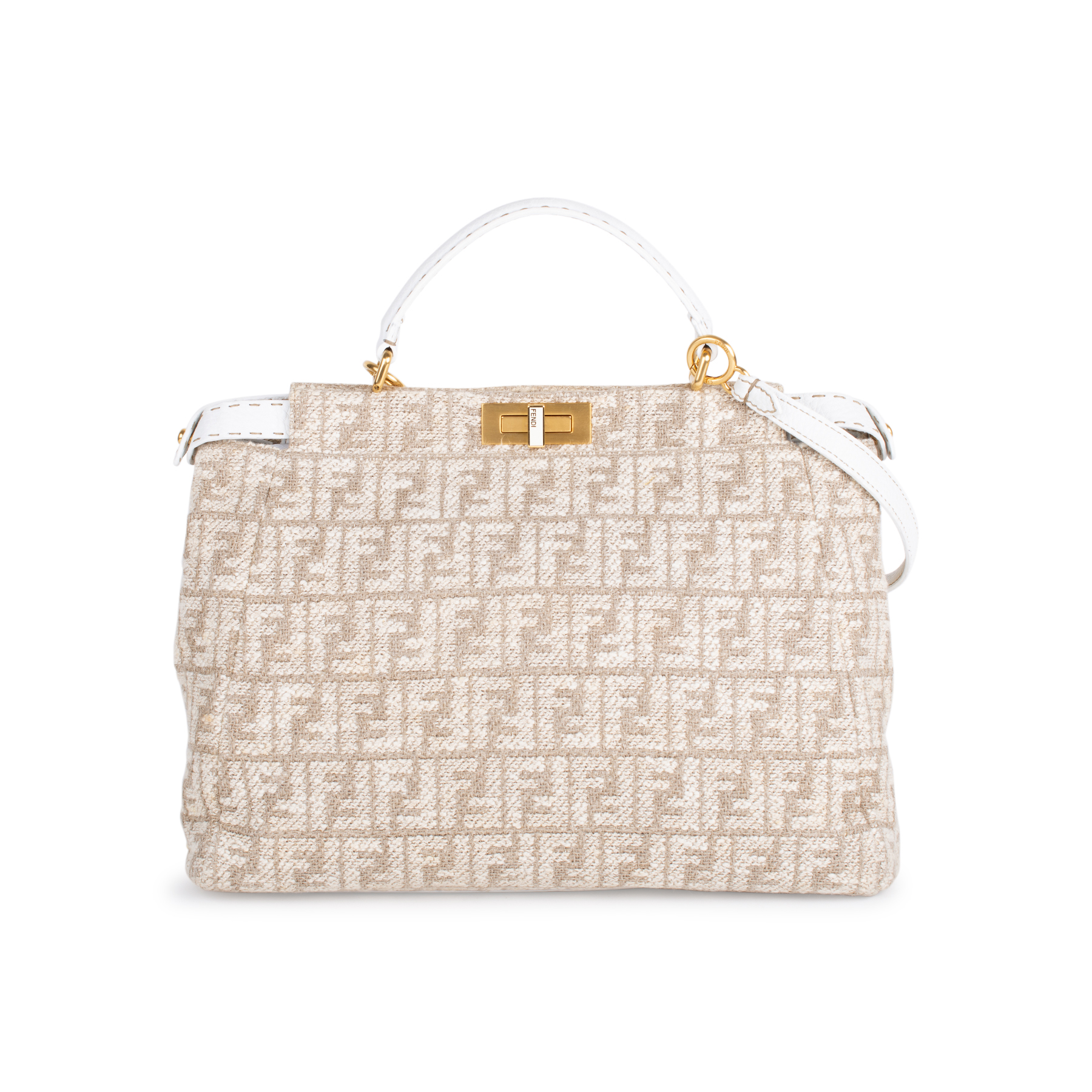 ded562a881 Authentic Second Hand Fendi Large Monogram Peekaboo Bag (PSS-333-00019) -  THE FIFTH COLLECTION