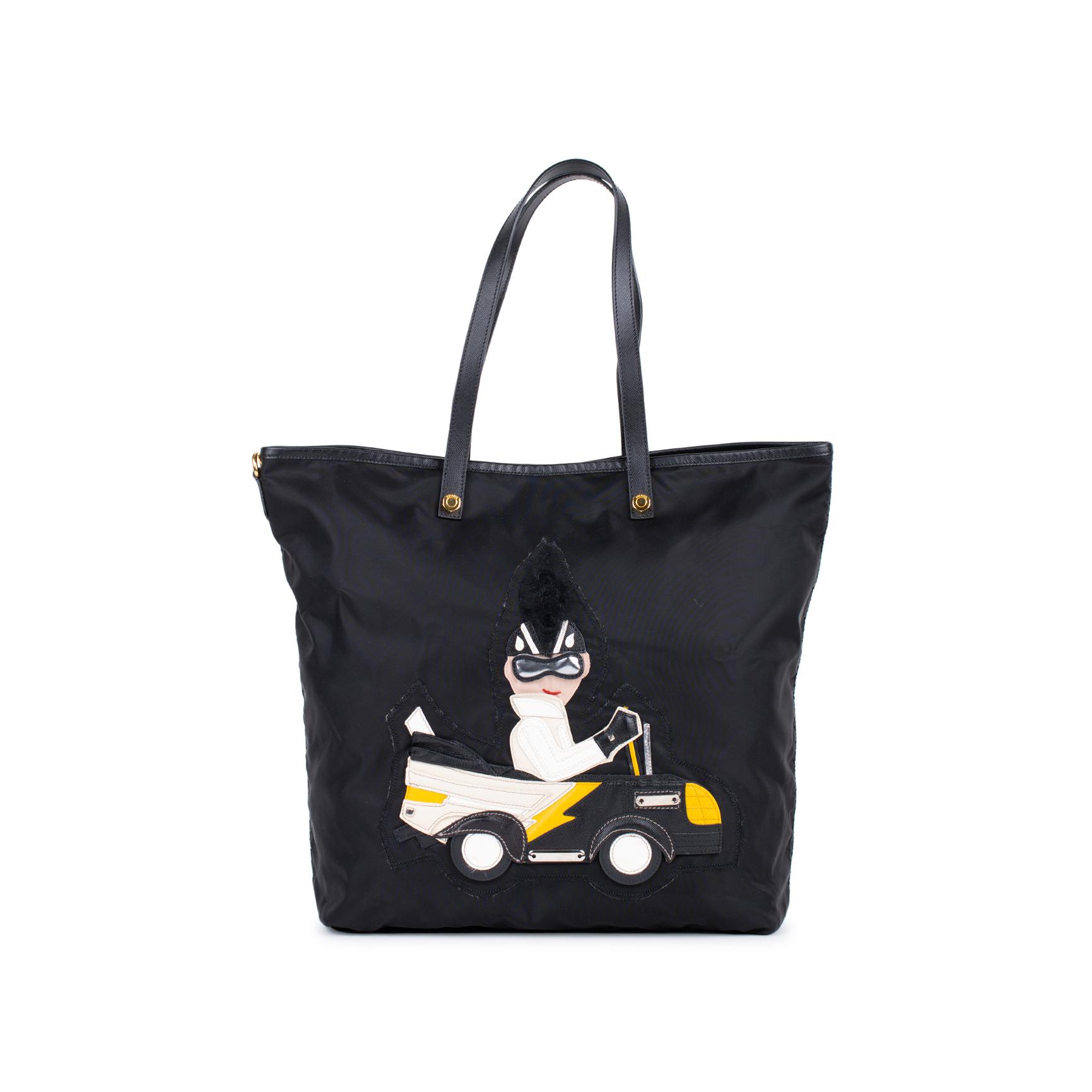 aaa0983375 Authentic Second Hand Prada Nylon Tote Bag (PSS-333-00029)