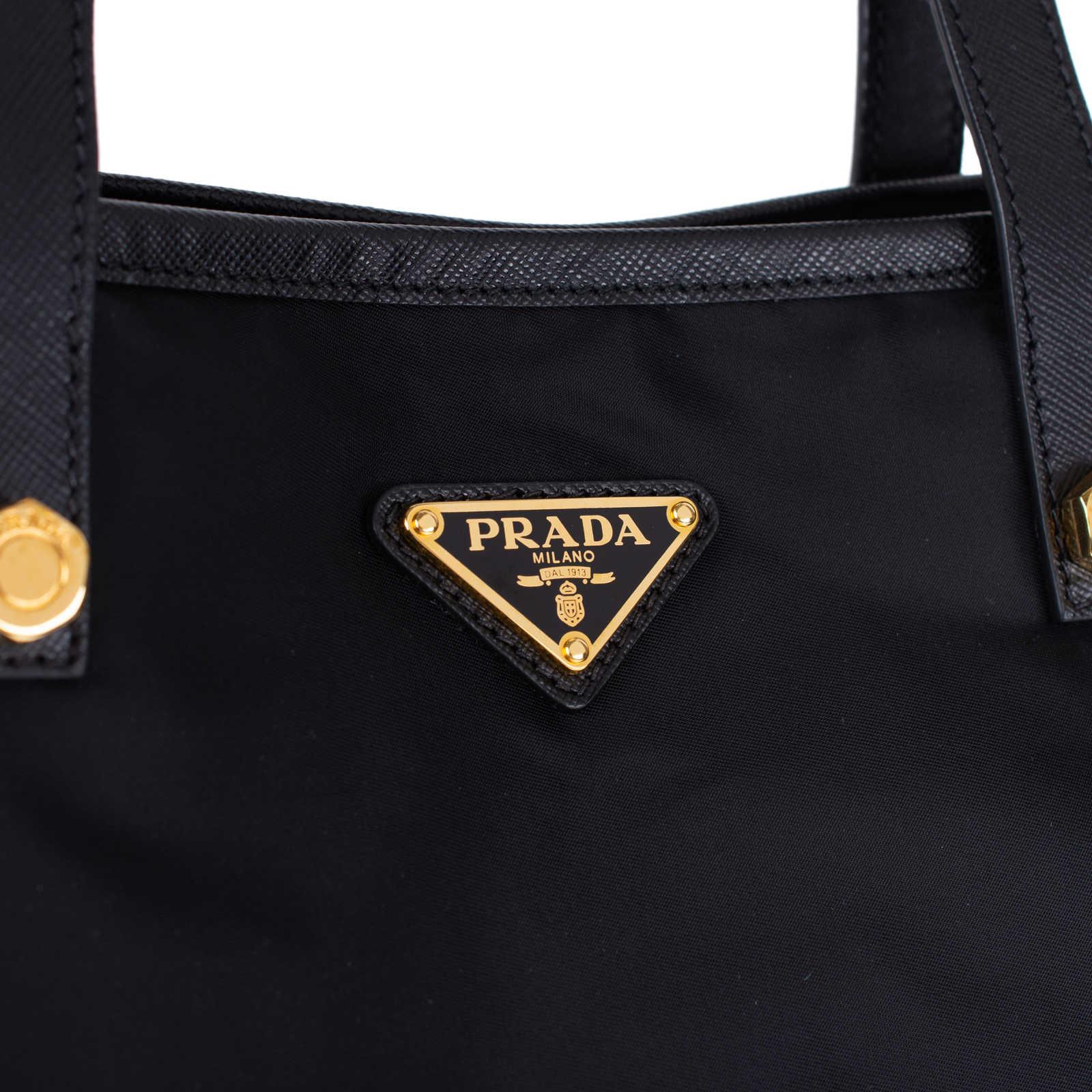 1e509be1f3d9 Authentic Pre Owned Prada Nylon Tote Bag (PSS-333-00029) - Thumbnail ... Shop  Prada Vela Blue Nylon Tote - Free Shipping Today ...