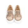 Authentic Pre Owned Salvatore Ferragamo Pacau Glitter Slip Ons (PSS-333-00035) - Thumbnail 0