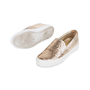 Authentic Pre Owned Salvatore Ferragamo Pacau Glitter Slip Ons (PSS-333-00035) - Thumbnail 1