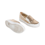 Authentic Pre Owned Salvatore Ferragamo Pacau Glitter Slip Ons (PSS-333-00035) - Thumbnail 2