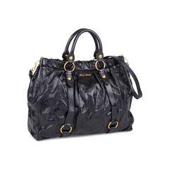Miu miu vitello lux satchel black 2?1535358304