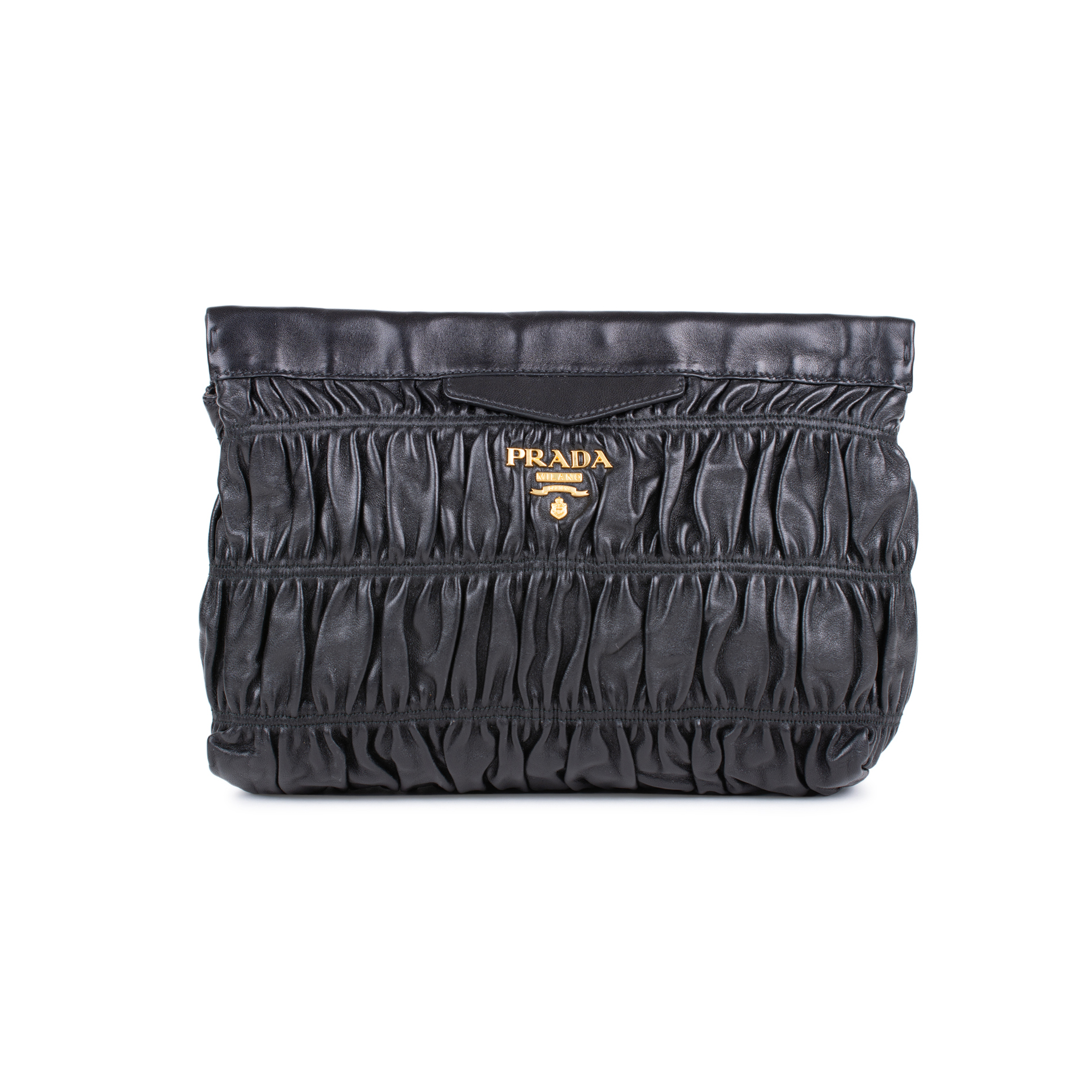 Authentic Pre Owned Prada Nappa Gaufre Clutch (PSS-333-00047)   THE FIFTH  COLLECTION® 396ba178af