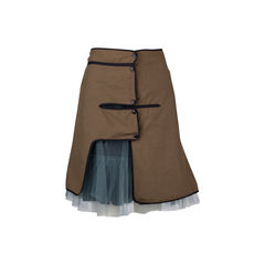 Double A-Line Skirt
