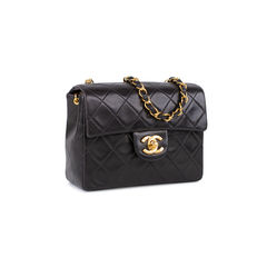 Chanel mini classic flap bag black 4?1535431153