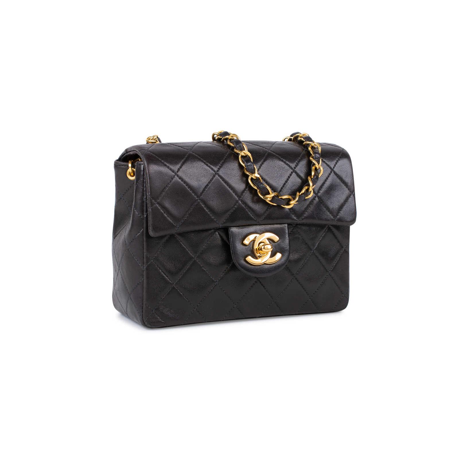 72f2d9846032 ... Authentic Second Hand Chanel Mini Classic Flap Bag (PSS-515-00036) ...
