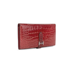 Hermes alligator bearn wallet 2?1535434706