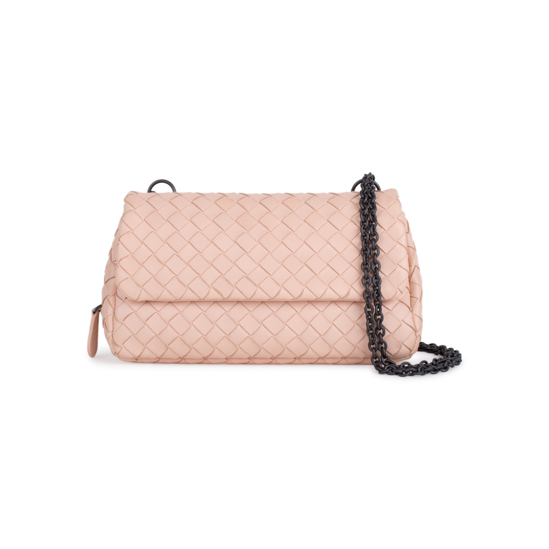 980f5d8dde6d Authentic Second Hand Bottega Veneta Intrecciato Mini Crossbody Bag  (PSS-434-00010)