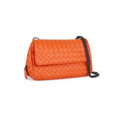 Bottega veneta intrecciato mini crossbody bag orange 2?1535438506