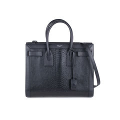Python Embossed Small Sac de Jour