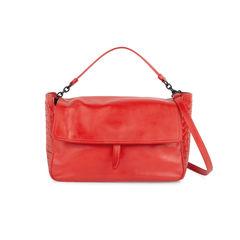 Intrecciato Side Satchel Bag
