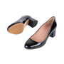 Authentic Second Hand BOSS Stacked Patent Pumps (PSS-542-00006) - Thumbnail 1