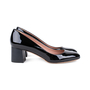 Authentic Second Hand BOSS Stacked Patent Pumps (PSS-542-00006) - Thumbnail 4