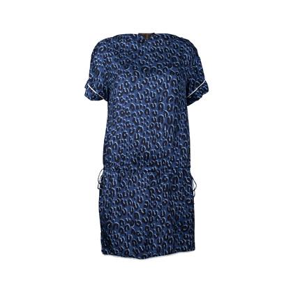 Authentic Second Hand Louis Vuitton Leopard Printed Bateau Dress (PSS-200-00550)