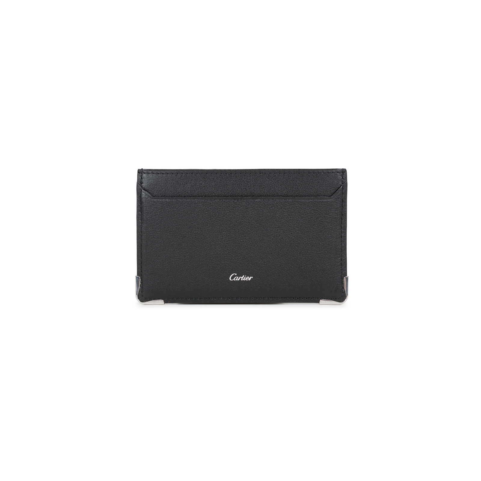 56df5f77ee0d ... Authentic Second Hand Cartier Logo Cardholder (PSS-356-00017) -  Thumbnail 1 ...
