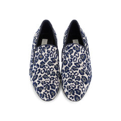 Faux Leopard Print Loafers