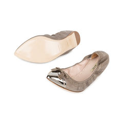 Miu miu metal pointed toe flats 2?1535525226