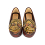 Authentic Second Hand Car Shoe Python-Embossed Loafers (PSS-356-00032) - Thumbnail 0