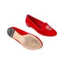 Authentic Second Hand Alexander McQueen Velvet Skull Loafers (PSS-370-00088) - Thumbnail 2