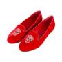 Authentic Second Hand Alexander McQueen Velvet Skull Loafers (PSS-370-00088) - Thumbnail 3