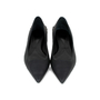 Authentic Second Hand McQ Alexander Mcqueen Ada Edge Brocade Heel Leather Flats (PSS-370-00090) - Thumbnail 0
