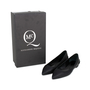 Authentic Second Hand McQ Alexander Mcqueen Ada Edge Brocade Heel Leather Flats (PSS-370-00090) - Thumbnail 5