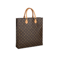 Louis vuitton monogram sac plat tote bag 2?1535703549