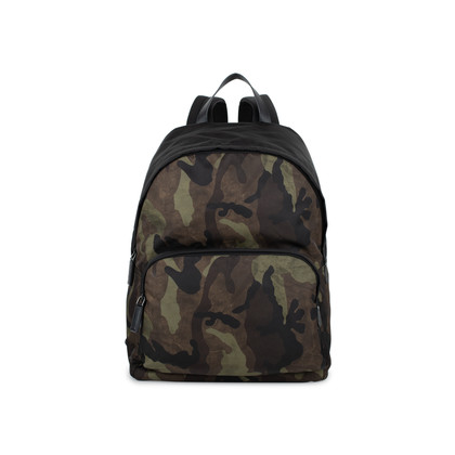 Authentic Pre Owned Prada Camoflage Backpack (PSS-536-00002)