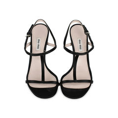 Nail T-Strap Sandals