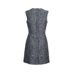 Balenciaga wool blend jacquard dress 2?1536037131