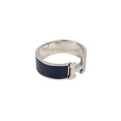 Hermes clic clac h bracelet blue 4?1536095557