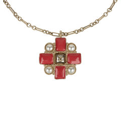 Chanel maltese cross necklace 1?1536095654