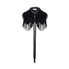 Beaded Fringe Bib