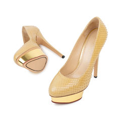 Charlotte olympia dolly python pumps 2?1536122366